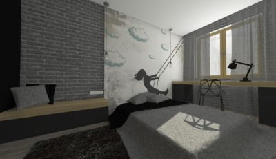 projekt sypialni ełk